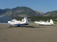 C-GDEV @ CAA8 - C-GDEV and C-GMGL in Invermere - by Devon Matsalla