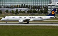D-AEBG @ EDDM - departure from Munich