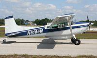 N6166N @ LAL - Cessna A185F