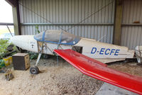 D-ECFE @ EGTN - stored in bits at Enstone Airfield - by Chris Hall