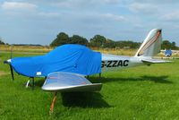 G-ZZAC @ EGTN - at Enstone Airfield - by Chris Hall
