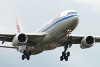 B-6132 @ EGLL - Air China - by Chris Hall