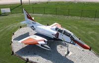 153671 @ KGUS - Douglas TA-4J - by Mark Pasqualino