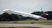 N942DL @ KATL - Takeoff ATL - by Ronald Barker