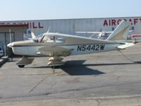 N5442W @ CCB - Parked near Foothill Aircraft Sales & Service area