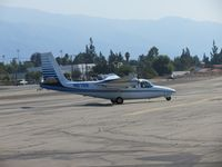 N67SS @ CCB - Taxiing into parking area for Maniac Mike's Cafe