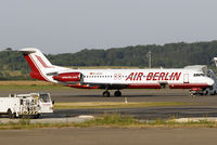 D-AGPC @ EDDR - at scn in old Air Berlin colours - by Volker Hilpert