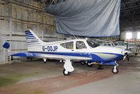 G-OOJP - in the civil hangar at RAF Kirknewton - by Joop de Groot