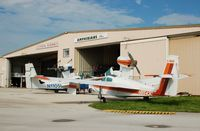 N1105L @ BOW - 1975 Consolidated Aeronautics Inc. LAKE LA-4 N1105L at Bartow Municipal Airport, Bartow, FL - by scotch-canadian