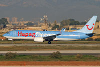 D-AHLP @ LEPA - Hapagfly.com D-AHLP early morning departure at PMI - by Thomas M. Spitzner