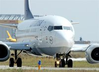 D-ABIR @ EDDP - Lufthansa´s short distance working horse on taxiway W1... - by Holger Zengler