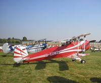 D-EDWZ @ EBDT - Schaffen Diest Oldtimer Airshow - by Henk Geerlings
