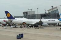 D-AIKI @ DFW - At DFW Airport