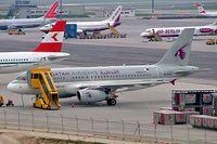 A7-CJA @ LOWW - Airbus A319-133LR [1656] (Qatar Airways) Vienna~OE 17/04/2005 - by Ray Barber