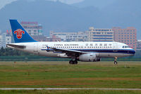 B-6019 @ ZGSZ - Airbus A319-132 [1986] (China Southern Airlines) Shenzhen-Baoan~B 22/10/2006 - by Ray Barber