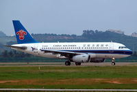 B-6020 @ ZGSZ - Airbus A319-132 [2004] (China Southern Airlines) Shenzhen-Baoan~B 22/10/2006 - by Ray Barber