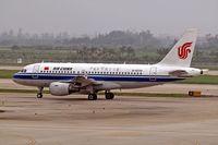 B-6038 @ ZGGG - Airbus A319-115 [2298] (Air China) Guangzhou-Baiyan~B 24/10/2006 - by Ray Barber