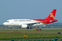 B-6159 @ ZGSZ - Airbus A319-115 [2905] (Shenzhen Airlines) Shenzhen-Baoan~B 23/10/2006 - by Ray Barber