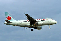 C-GJWF @ CYUL - C-GJWF  Airbus A319-112 [1765] (Air Canada) Montreal-Dorval~C 23/06/2005 - by Ray Barber