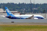 N787BX @ BFI - 2010 Boeing 787-8, c/n: 40692 at BFI