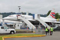 G-BOAG @ BFI - 1978 Aerospatiale-BAC Concorde 1-102, c/n: 100-014 at Museum of Flight