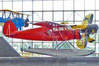 N13477 @ BFI - 1933 Stinson JR. SR, c/n: 8732 at Museum of Flight