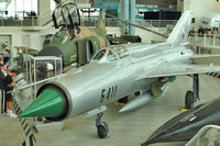 5411 @ BFI - Mikoyan-Gurevich MiG-21PFM, c/n: 94A5411 in Museum of Flight - by Terry Fletcher