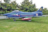 MM6244 @ BFI - Fiat G-91PAN, c/n: 10 at Museum of Flight