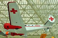 N115MF @ BFI - Beech C-54G, c/n: AF-253 ex USAF 51-11696 at Museum of Flight