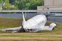 N15748 @ BFI - 1945 Douglas DC3, c/n: 6337 ex USAF 43-2013 derelict at BFI