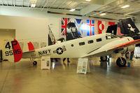 N585PB @ PAE - 1944 Beech RC-45J, ex USCG 29585 at Historic Flight Foundation , Everett