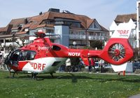 D-HYYY - Eurocopter EC135P2+ EMS-helicopter of the DRS-Luftrettung at the lakeside park in Langenargen on the shores of Lake Constance (Bodensee) for an informational display for emergency personnel - by Ingo Warnecke