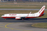 D-ABAS @ EDDL - Air Berlin D-ABAS taxiing to it's parking position after roll out Rwy 23L - by Thomas M. Spitzner