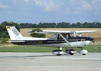 D-EYCM @ EDAY - Cessna 152 at Strausberg airfield - by Ingo Warnecke