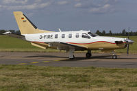 D-FIRE @ EGSH - Departing SaxonAir. - by Matt Varley