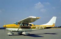 N1107V @ EGLK - Cessna U.206F Stationair seen at Blackbushe in the Summer of 1976. - by Peter Nicholson