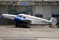N1019B @ SJU - Interesting long-nose modification to an elderly Beech 18 at San Juan. - by Daniel L. Berek