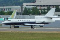 N789JC @ BFI - 1982 Dassault-breguet FALCON 50, c/n: 66 at BFI