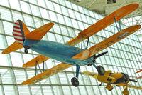 N8FL @ BFI - 1937 Boeing A75, c/n: 75-055 Museum of Flight Seattle