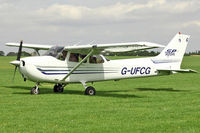 G-UFCG @ EGBK - 2003 Cessna 172S, c/n: 172S9450 - vistor to Sywell Airshow
