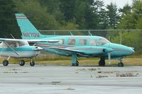 N117DW @ 74S - Piper PA31-310, c/n: 31-451 at Anacortes - by Terry Fletcher