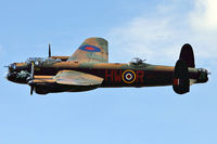 PA474 @ EGBK - The iconic Lancaster Bomber displaying at the 2012 Sywell Air Show