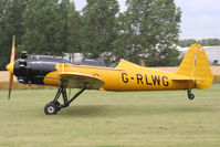 G-RLWG @ EGBR - The Real Aeroplane Club's Summer Madness Fly-In, Breighton - by Chris Hall