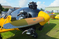 G-RLWG @ EGBR - Menasco C4 125 hp radial engine - by Chris Hall