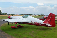G-ROMP @ EGBR - The Real Aeroplane Club's Summer Madness Fly-In, Breighton - by Chris Hall