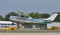 C-FDSC @ KOSH - Departing Airventure on runway 27 - by Todd Royer