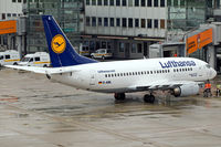 D-ABIL @ EDDL - Lufthansa D-ABIL Memmingen a few moments after arriving at the gate. - by Thomas M. Spitzner