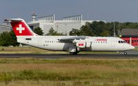HB-IXT @ EDDF - departure from Frankfurt