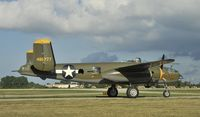 N345BG @ KOSH - Taxiing for departure at Airventure 2012