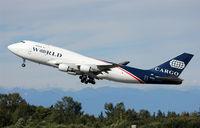 N742WA @ KPAE - KPAE/PAE World 9889 departing to Travis